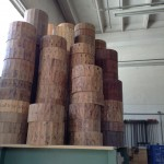 stacked ready to finish